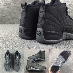 7eb29478771 SHOP: Nike Air Jordan 12 Retro Wool kickbackzny.com men's & kid sizes