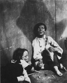 "Photo Taken of ""street urchins"" in 1857 by  Oscar Gustave Rejlander"