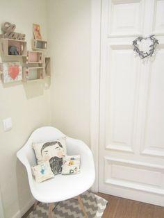 La casa de Patricia, creadora de Nicoletas Handmade Space Place, How To Make Pillows, Kidsroom, Girl Room, Toddler Bed, Room Decor, Playrooms, Room Ideas, Babies