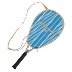 Check out our Ticking Stripe Ame & Lulu Ladies Riley Tennis Racquet Cover! Find the best tennis gear and accessories at Lori's Golf Shoppe. Click through now to see this Tennis Racquet Cover!