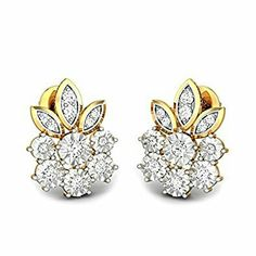 Diamond Tops Earrings Jewelry Stud Beautiful Costume