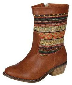 Southern Fashion House - Native American Rug Boots, $43.50 (http://www.southern-fashion-house.mybigcommerce.com/native-american-rug-boots/)