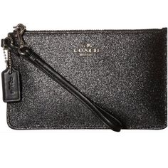 COMING SOON! Black Glitter Coach Wristlet Coming soon! Details and additional pics to follow! Like Now to be notified upon arrival!  Coach Bags Clutches & Wristlets