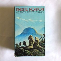 Andre Norton Science Fiction Book Set Blue Box 4 by TheGeekyPicker