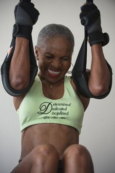 Ernestine Shepherd, in shape at age 74 - The Washington Post     This is why female athletes at my age turn me on, because they look like her when their older