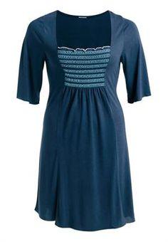 Plus Size Smocked long tunic image