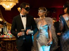Fifty Shades Darker movie: everything you've wanted to know about Ana's (Dakota Johnson) masquerade ball look as told by costume designer Shay Cunliffe