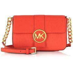 Michael Kors Small Fulton Saffiano Messenger Bag