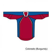 Kamazu FlexxICE 20100 Colorado Avalanche TEAM Adult Hockey Jersey