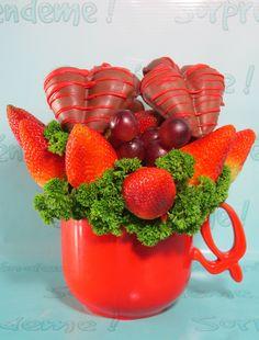 arreglos a base de frutas