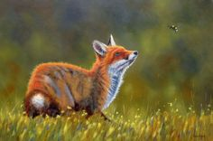 """Want To Bee My Friend - oil on canvas 30"""" by 20"""""""