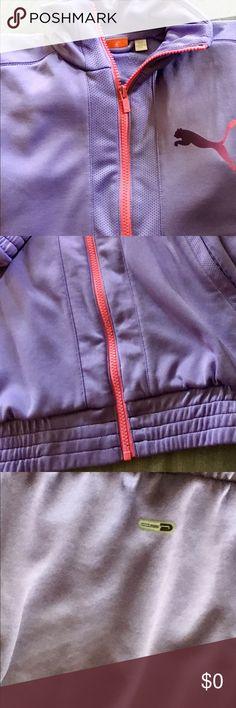 Puma SPORS JACKET XS EXCELLENT CONDITION Light purple women's XS jacket Puma Jackets & Coats