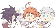 Page 3 Read trio from the story The Promised Neverland Trash Dump by Kitatani (「sleep is a myth」) with 79 reads. Comic Anime, All Anime, Manga Anime, Anime Art, Fanart, Anime Child, Tsundere, Cute Chibi, Animes Wallpapers