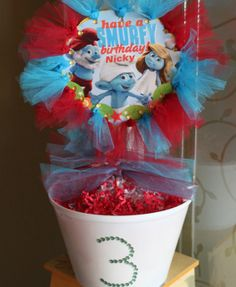 Smurf Birthday Party | Behar Party Designs | Party and Event Guide (1)