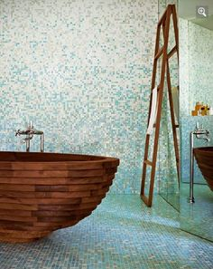 Rain down on me. Mosaic tiles. Bisazza.