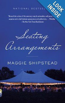 Seating Arrangements by Maggie Shipstead - Seating Arrangements takes place on a Nantucket-like island where the Van Meter family is hosting a wedding for their daughter, Daphne, who's hugely pregnant. Reading Lists, Book Lists, Books To Read, My Books, Travel Humor, Beach Reading, Reading Challenge, Father Of The Bride, Love Book