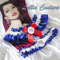 #Football garters #College garters#Wedding garters#brides#garters#bridal shower#Lollie Couture$50.00