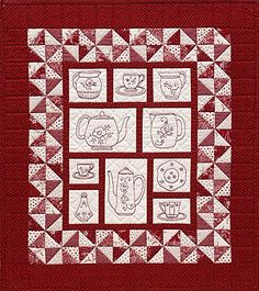 Redwork and Stitchery Quilts from Patterns by Jean Boyd