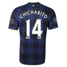 628c3a288 Men s 2013 14 Manchester United Javier Chicharito by SoccerAvenue