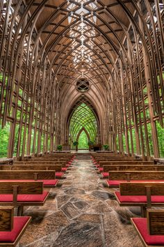 Chapel in the Woods in Bella Vista, Arkansas -- must stop on our next trip to AL