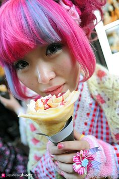 #harajuku! BEYOND exited to go to Tokyo in a few months... Where people dress like this & it's somewhat normal.