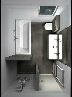 Badezimmer Umbau small laundry room is no question important for your home. Whether you choose the bathroom renovations or diy home decor for apartments, you will create the best bathroom remodel wainscotting for your Bathroom Design Small, Bathroom Layout, Bathroom Interior Design, Modern Bathroom, Bathroom Designs, Zen Bathroom, Glass Bathroom, Master Bathrooms, Small Bathrooms