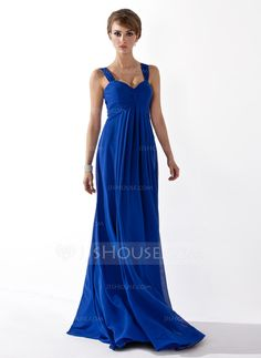 Bridesmaid Dresses - $107.49 - Empire Sweetheart Floor-Length Chiffon Bridesmaid Dress With Ruffle (007051835) http://jjshouse.com/Empire-Sweetheart-Floor-Length-Chiffon-Bridesmaid-Dress-With-Ruffle-007051835-g51835