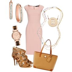 Rose gold and pink