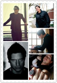 Zak Bagans~love the pic in the lower right...and his ring.
