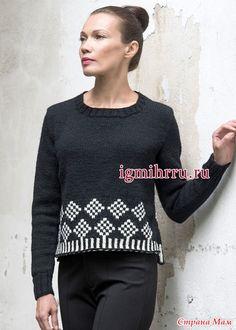 Всех приветствую. Если интересно, то все модели женских кофточек, пуловеров и прочих красивостей, собраны в рубрике