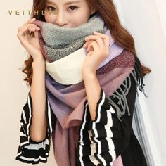 1Pc Graceful Women Stylish Hot Sale New Lady/'s Print Soft Cozy Scarf Shawl