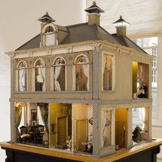 Nicely shaped, good style and design. .....Rick Maccione-Dollhouse Builder www.dollhousemansions.com