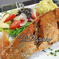 En #SemanaSanta prueba el Pargo al gusto en D'angelos Restaurant.  #PecadosParaDegustar  En @orinokia_mall y @CCCAltaVista2 en Puerto Ordaz.  #SencillamenteDelicioso  #Guayana  #puertoordaz  #gastronomía  #gourmet