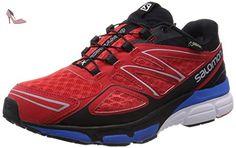 Salomon  X-Scream 3D GTX, Chaussures de marche pour homme Rouge Rot (Bright Red/Black/Union Blue) 46 - Chaussures salomon (*Partner-Link)