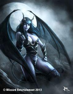World of Warcraft - Succubus by PierluigiAbbondanza.deviantart.com on @deviantART