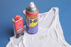 4 Modi per Rimuovere Macchie di Grasso o di Olio dai Vestiti