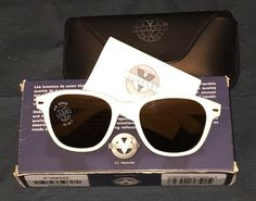 82f48c96f5 eBay  Sponsored Vuarnet France 004 White Plastic vintage sunglasses mineral  lenses px2000