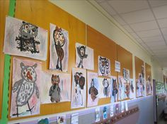 Ecole primaire de la Fraternité Ambilly - autour de l'album miroir BEBES CHOUETTES