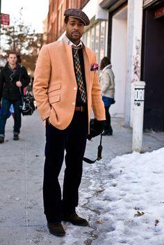 Guerre in Orange   Street Fashion   Street Peeper   Global Street Fashion and Street Style