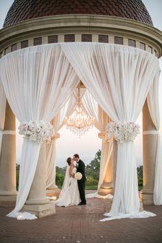 Romantic Blush Toned California Wedding from Samuel Lippke - wedding ceremony idea