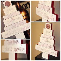 DIY Christmas Decor - Christmas Tree Tutorial