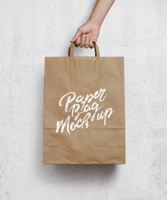 Brown Paper Bag MockUp #mockupcatalog #free #graphicdesign #graphicdesignresources #graphics #webdesign #design #mockup