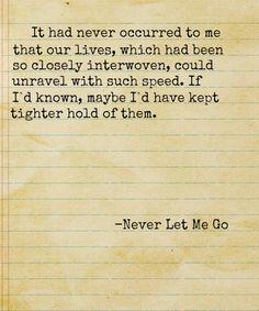 45 Best Never Let Me go images