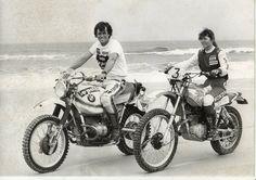 Hubert Auriol et Christine Martin. Paris Dakar 1979
