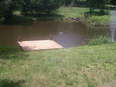 images of pond docks | Pond Dock