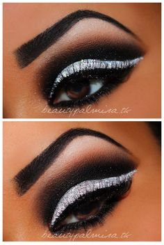 black and white. Very pretty but I couldn't pull it off