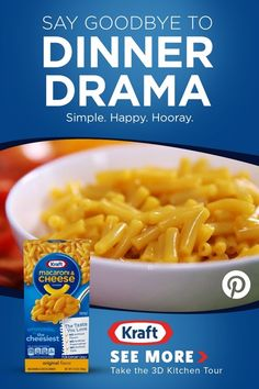 Kraft Macaroni & Cheese is the cheesy dinner that will always make kids do their happy dance. Lunch Recipes, Dinner Recipes, Cooking Recipes, Cube Steak Recipes, Chicken Recipes, Pasta, Macaroni Cheese, Food Cravings, Happy Dance