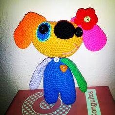 Perrito multicolor vendula
