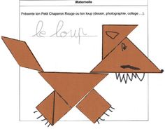 Fairy Tale Projects, Little Red Riding, Saint Aubin, Three Little Pigs, Kirigami, Ms Gs, Craft Activities, School Projects, Art Education