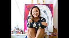 Obras realizadas em 2016 ! Pinturas Carol Wang Arte